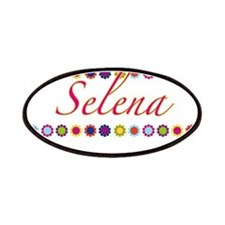 Selena with Flowers Patches