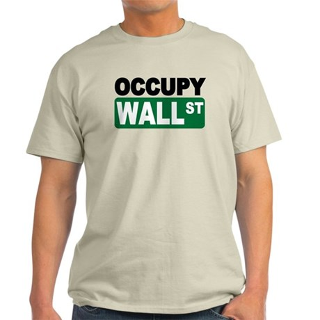 Occupy Wall St. Light T-Shirt