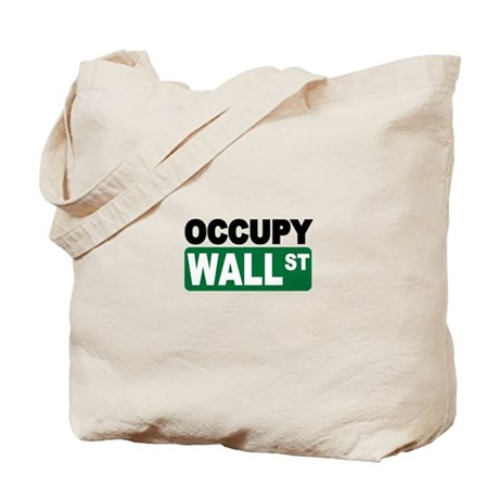 Occupy Wall St. Tote Bag