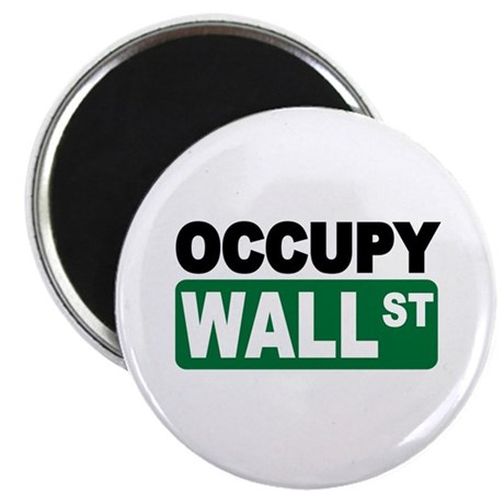 """Occupy Wall St. 2.25"""" Magnet (10 pack)"""