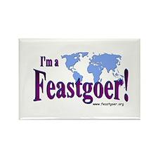 I'm a Feastgoer Rectangle Magnet