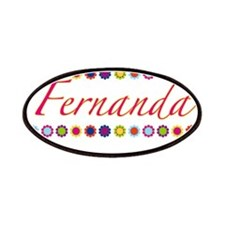 Fernanda with Flowers Patches