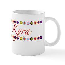 Kyra with Flowers Mug