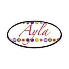 Ayla with Flowers Patches