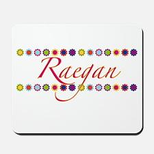 Raegan with Flowers Mousepad