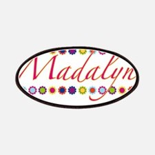 Madalyn with Flowers Patches