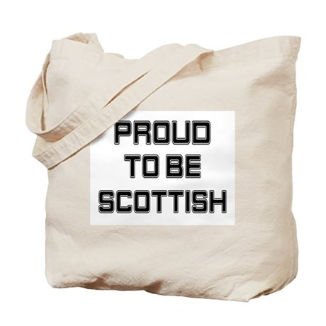 Proud to be Scottish Tote Bag