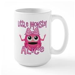 Little Monster Alice Large Mug