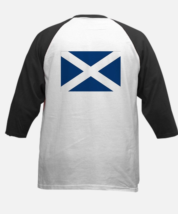 Proud to be Scottish Kids Baseball Jersey