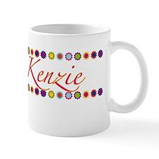 Kenzie with Flowers Mug
