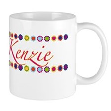 Kenzie with Flowers Small Mugs