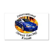 Pontiac Grand AM GT Car Magnet 20 x 12