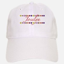 Joselyn with Flowers Baseball Baseball Cap
