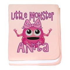 Little Monster Anita baby blanket