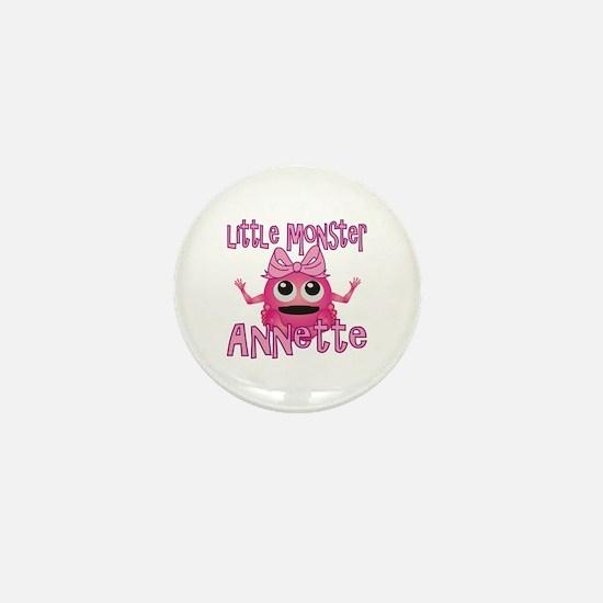 Little Monster Annette Mini Button
