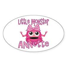 Little Monster Annette Decal