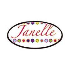 Janelle with Flowers Patches