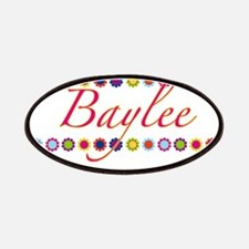 Baylee with Flowers Patches