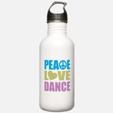 Peace Love Dance Water Bottle