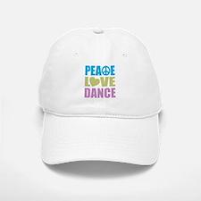 Peace Love Dance Baseball Baseball Cap