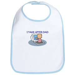 TAKE AFTER DAD Bib