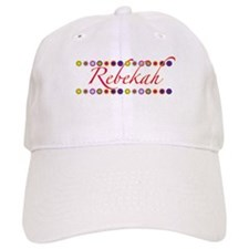 Rebekah with Flowers Baseball Cap