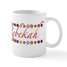 Rebekah with Flowers Mug