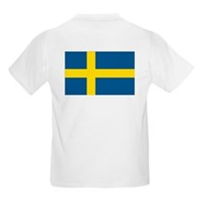 Proud to be Swedish Kids T-Shirt
