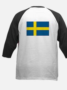 Proud to be Swedish Kids Baseball Jersey