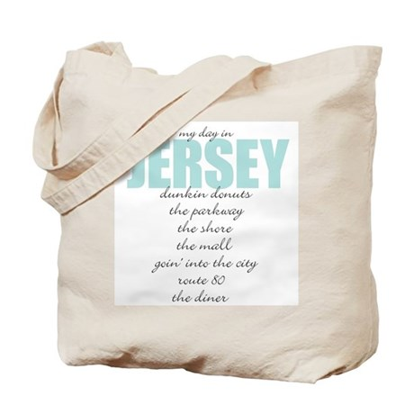 My Day in Jersey Tote Bag