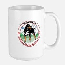 My Swissy IS Obedient Large Mug