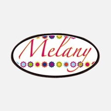 Melany with Flowers Patches