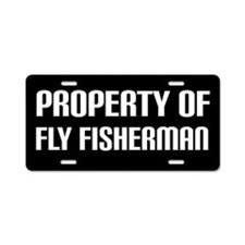 Fly Fishing License Plate