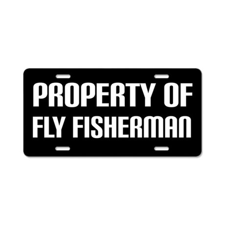 Fly fishing license plate by funlicenseframe for Florida temporary fishing license