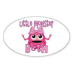 Little Monster Beth Decal