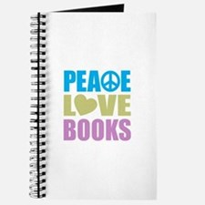 Peace Love Books Journal