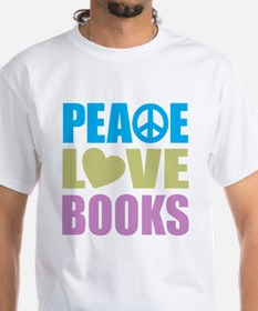 Peace Love Books Shirt