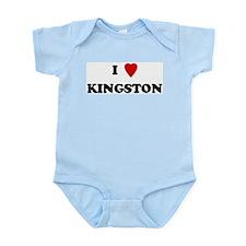 I Love Kingston Infant Creeper