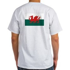 Proud to be Welsh Ash Grey T-Shirt