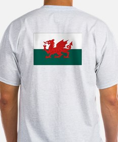 Proud to be Welsh Ash Grey T-Shirt