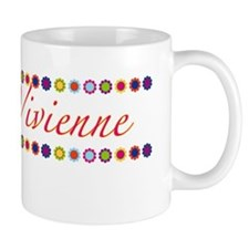 Vivienne with Flowers Mug