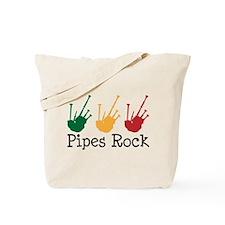 Bagpiper Music Pipes Tote Bag