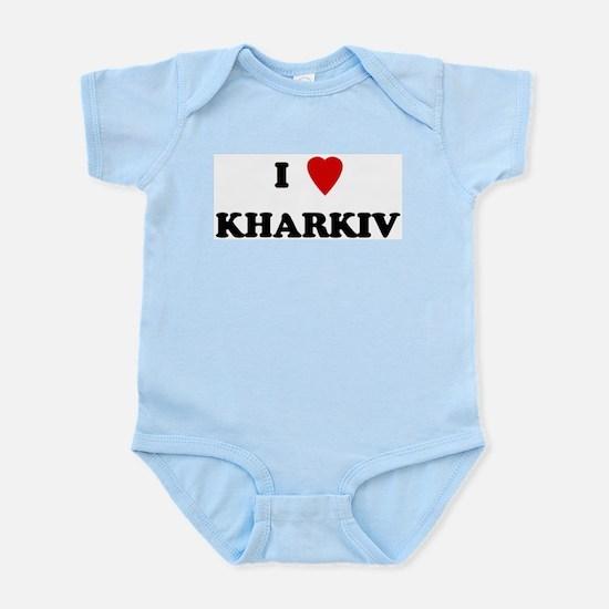 I Love Kharkiv Infant Creeper