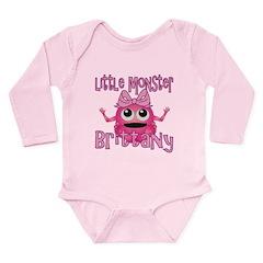 Little Monster Brittany Long Sleeve Infant Bodysui