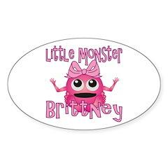 Little Monster Brittney Decal