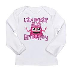 Little Monster Brittney Long Sleeve Infant T-Shirt