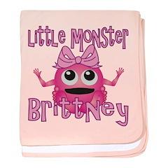 Little Monster Brittney baby blanket