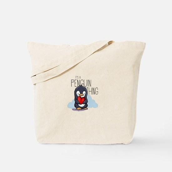Cute Cute penguin Tote Bag