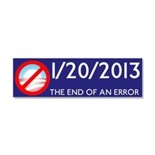 Cute 2012 election Car Magnet 10 x 3