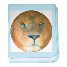 Lion baby blanket